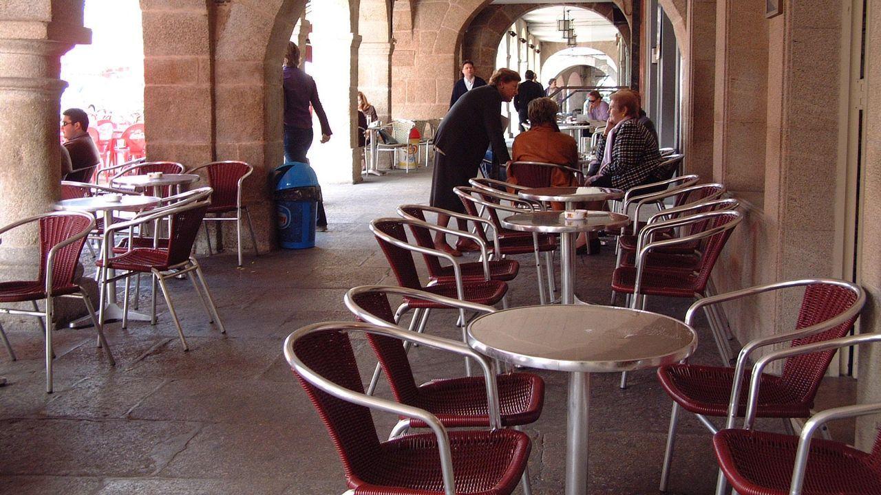 A hostalaría de Compostela ante o covid-19.Recreación virtual del Castillo Fortaleza de Oviedo desde su entrada principal (falta la representación de las murallas), con su ronda almenada