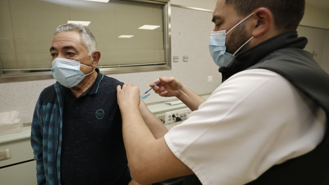 La vacunación continúa en A Mariña