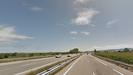 Autovía del Cantábrico a su paso por Castropol