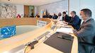 Imagen de la última reunión del Consello de la Xunta celebrada el pasado día 13