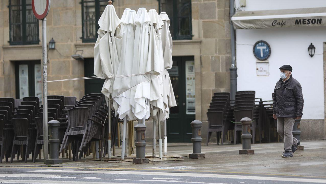 A hostalaría de Compostela ante o covid-19