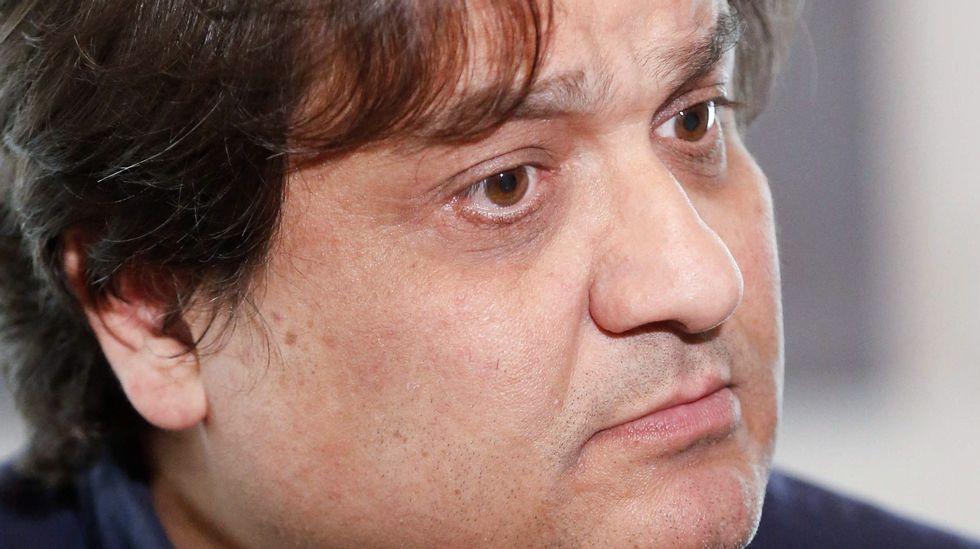 El secretario de organización de IU-Asturias, Alejandro Suárez