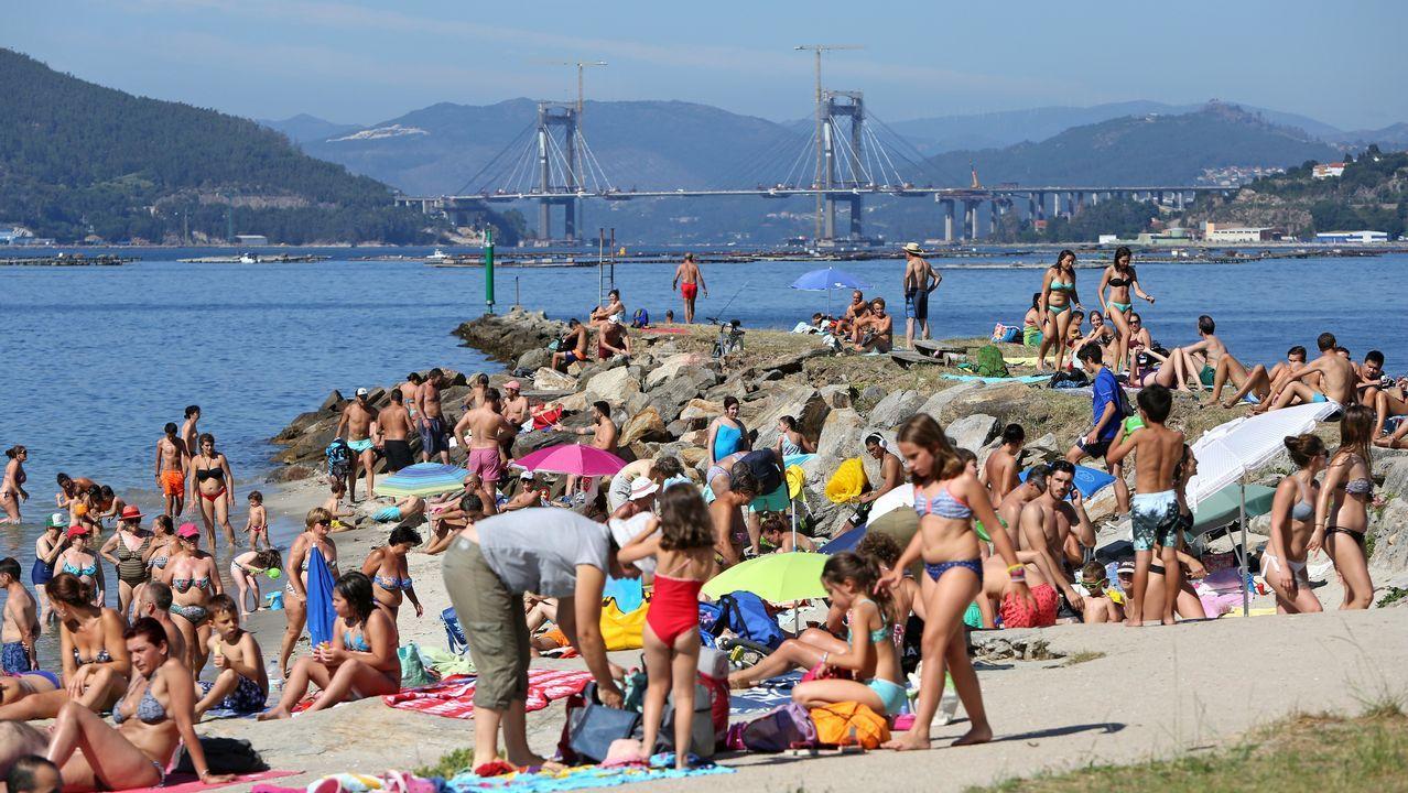 Playa de la Punta, Vigo