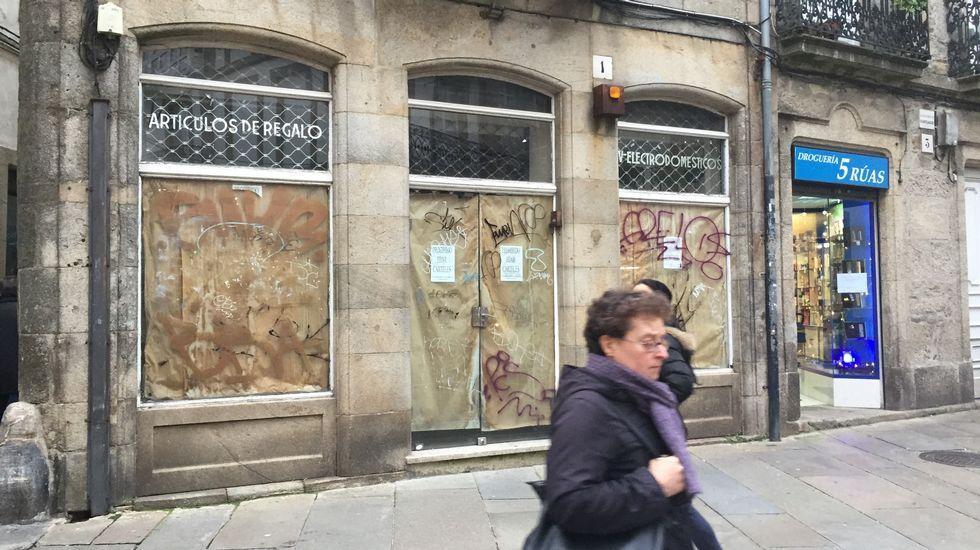 Comercio de electrodomésticos en las  cinco calles