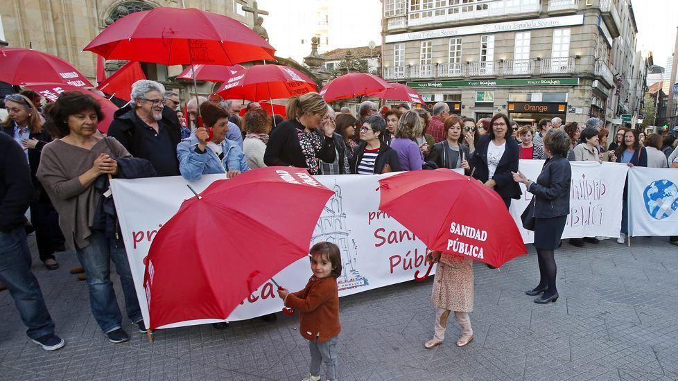 Manifestación en defensa de las urgencias y la sanidad pública