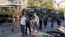 Las tropas se han unido a la policía para dispersar por la fuerza a los manifestantes en la ciudad de Mandalay