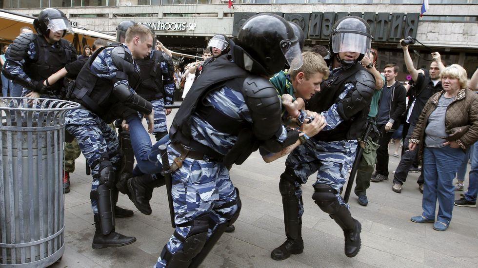 Manifestaciones en Rusia contra la corrupción.Putin se reunió con el presidente chino Xi Jinping