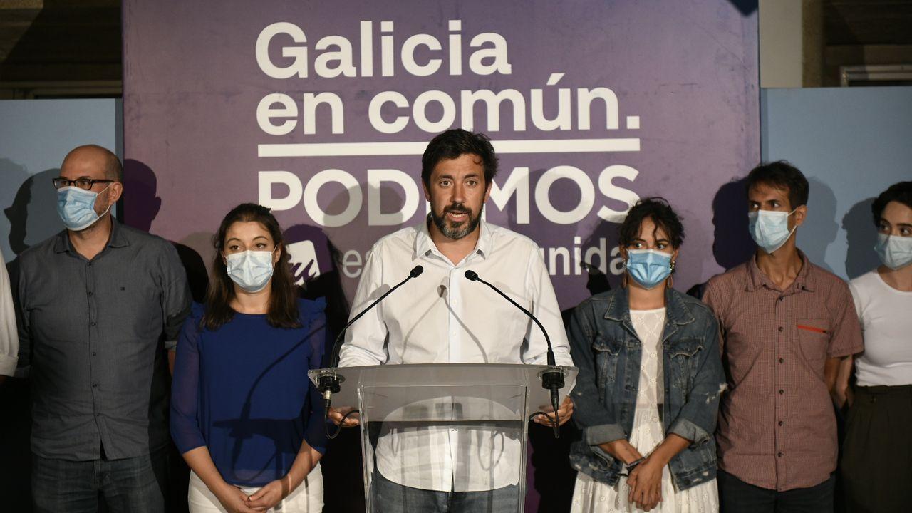 Gómez-Reino no pudo evitar transmitir la derrota durante su comparecencia