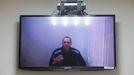 Navalni interviene por videoconferencia durante una vista judicial