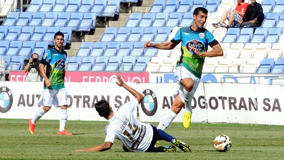 El Lugo superó en la primera ronda de la Copa del Rey al Alcorcón en el Ángel Carro.