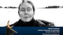 La escritora canadiense Anne Carson, Premio Princesa de Asturias de las Letras
