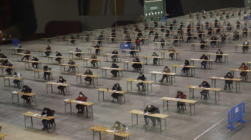 En la prueba de Silleda, en la foto, estaban apuntados 280 de los 301 inscritos en Monforte