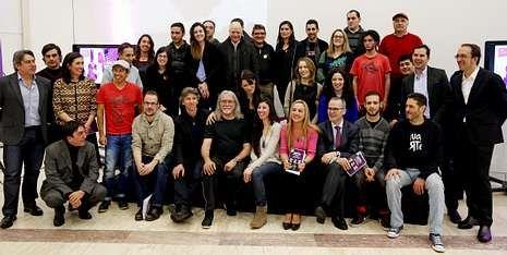 El acto de apertura de Galician Connection reunió al profesorado, participantes y autoridades.