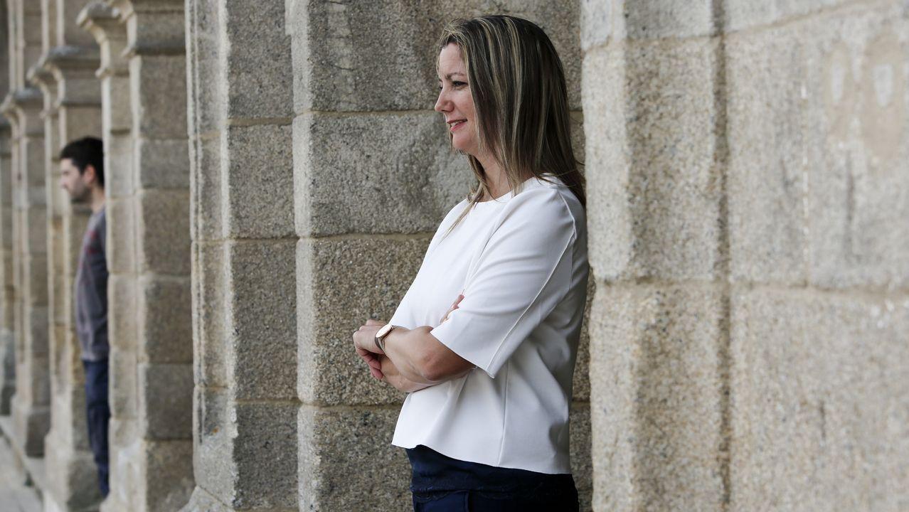 «Quero seguir de alcaldesa porque a ilusión dunha persoa cando inicia un proxecto é acabalo»