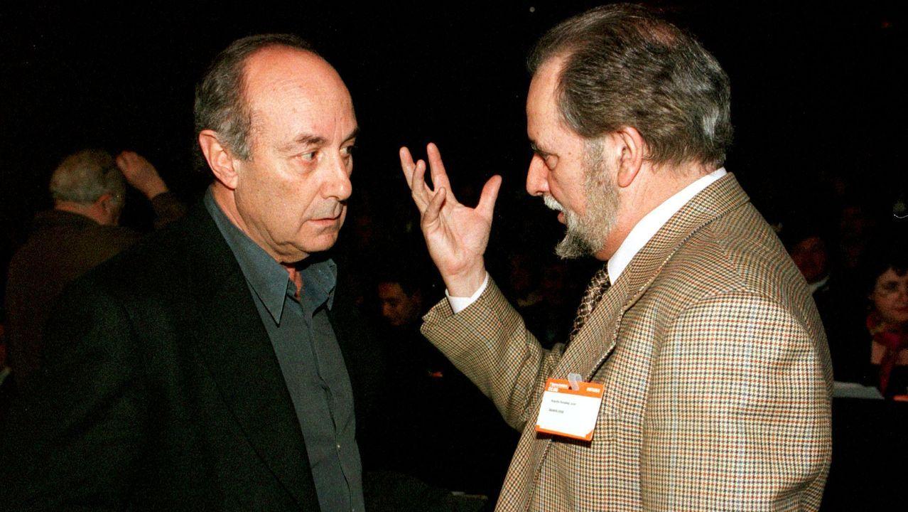 En 1998 y debido a un segundo infarto no se presentó a la reelección como secretario del PCE, cargo que pasó a Francisco Frutos y en la nueva directiva ocupó un puesto en el Comité Ejecutivo.