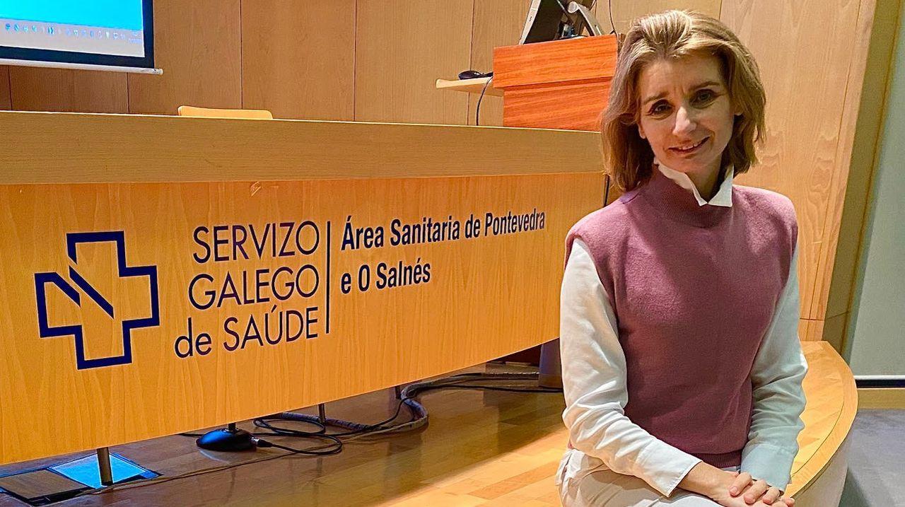 Yolanda Lesmes Romero, nueva directora de Recursos Humanos del área sanitaria de Pontevedra y O Salnés