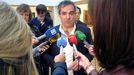 El viceconsejero de Cultura y Deporte del Gobierno de Asturias, Vicente Domínguez