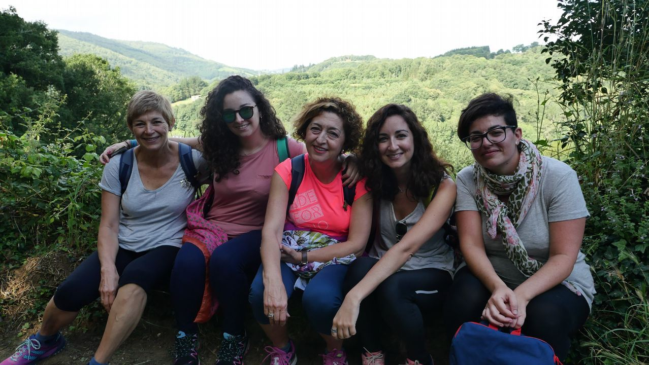 Esta familia de Málaga ya está en Samos