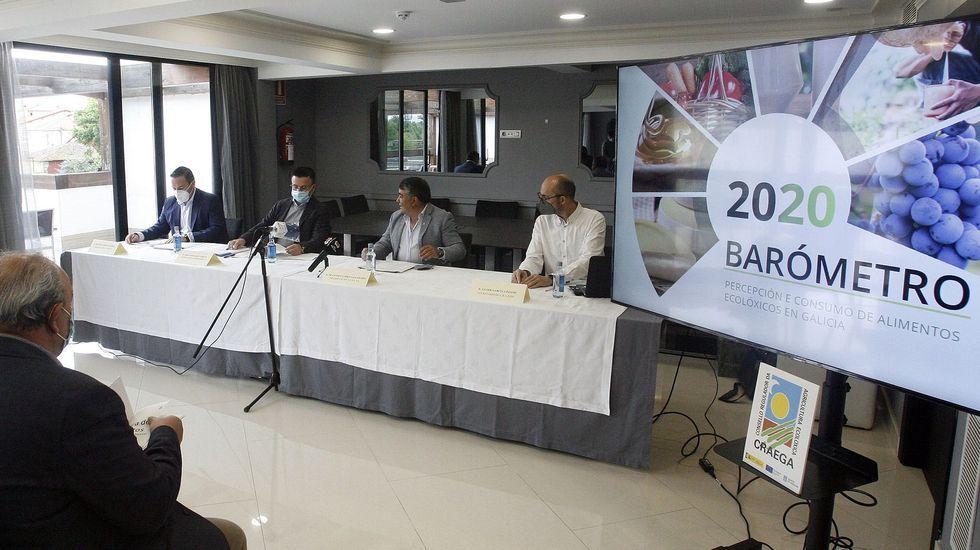 Representantes de la Xunta y el Craega presentaron los resultados de la encuesta en Monforte