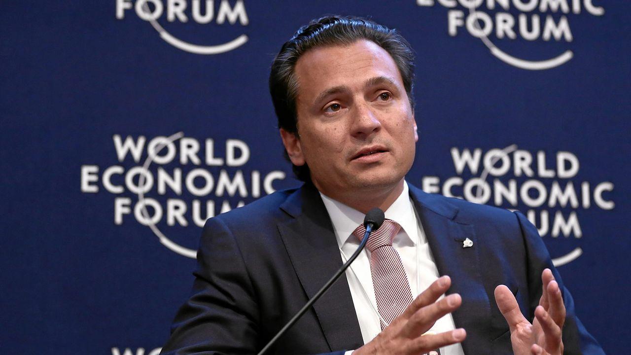El exdirector General De Pemex, Emilio Lozoya