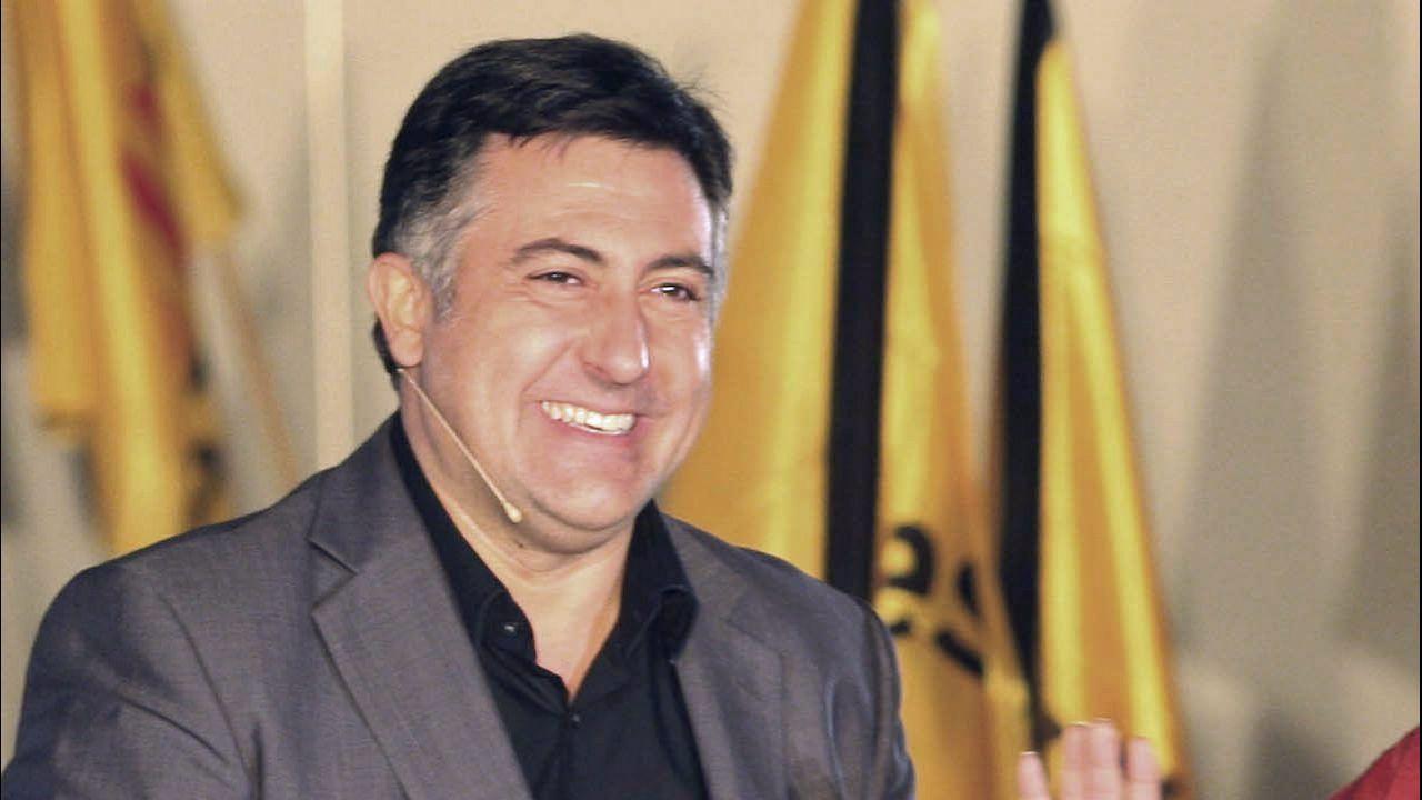 Joan Puigcercós. Expresidente de ERC, fue portavoz de este grupo en el Congreso.