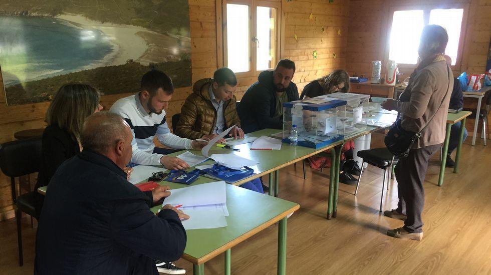 Votaciones en Soesto (Laxe)