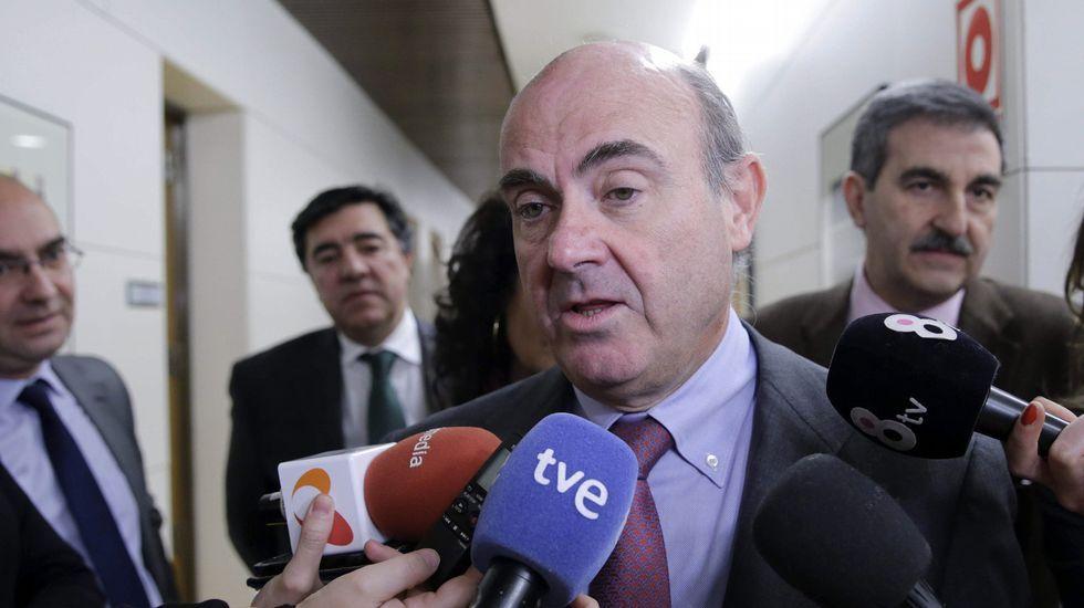 «No es momento para cobardes».Francisco Conde, conselleiro de Economía.