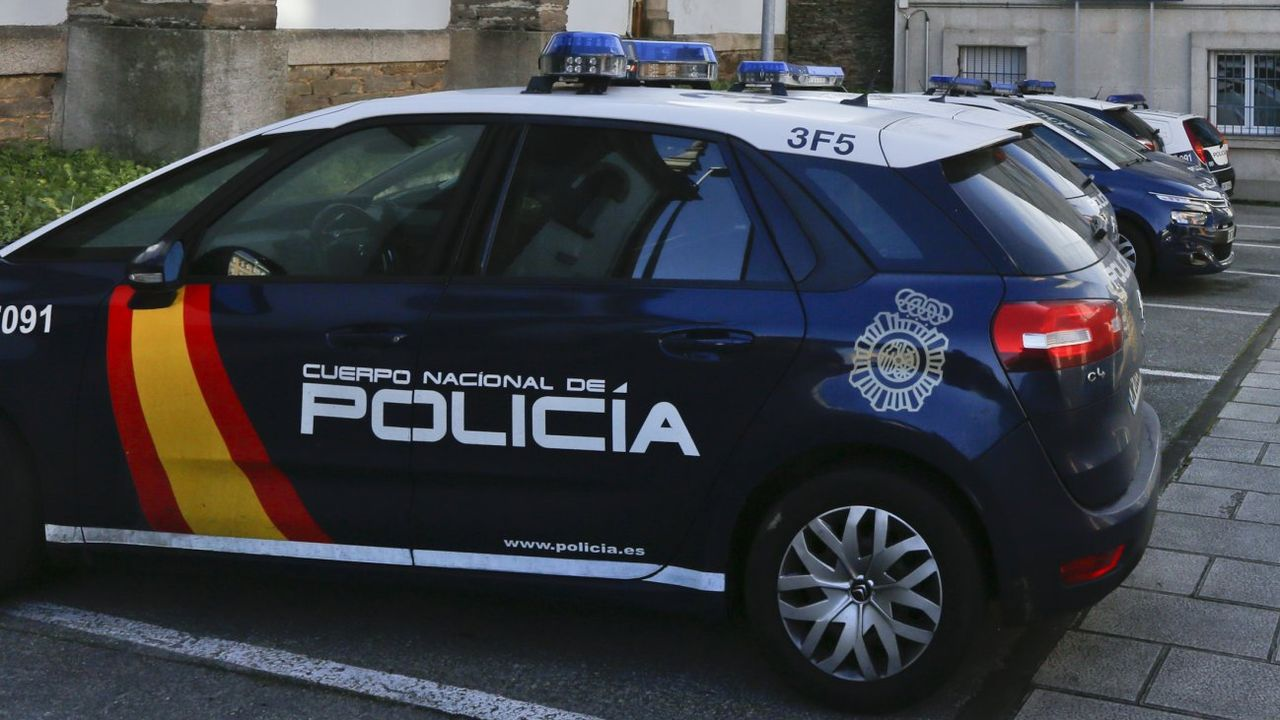 Autocares de la empresa Ribadeo