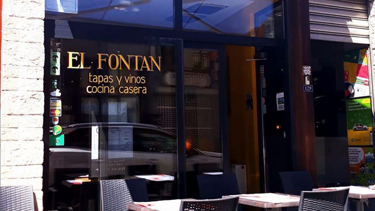 Fachada del restaurante «El Fontán»
