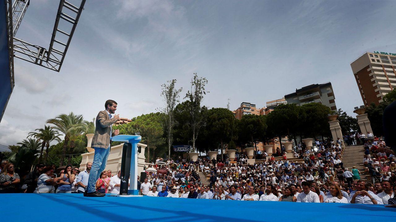 Casado aseguró ayer en Benidorm (Alicante) que Pedro Sánchez «no quiere llegar a ningún acuerdo de moderación» porque «no es un moderado, es un radical»
