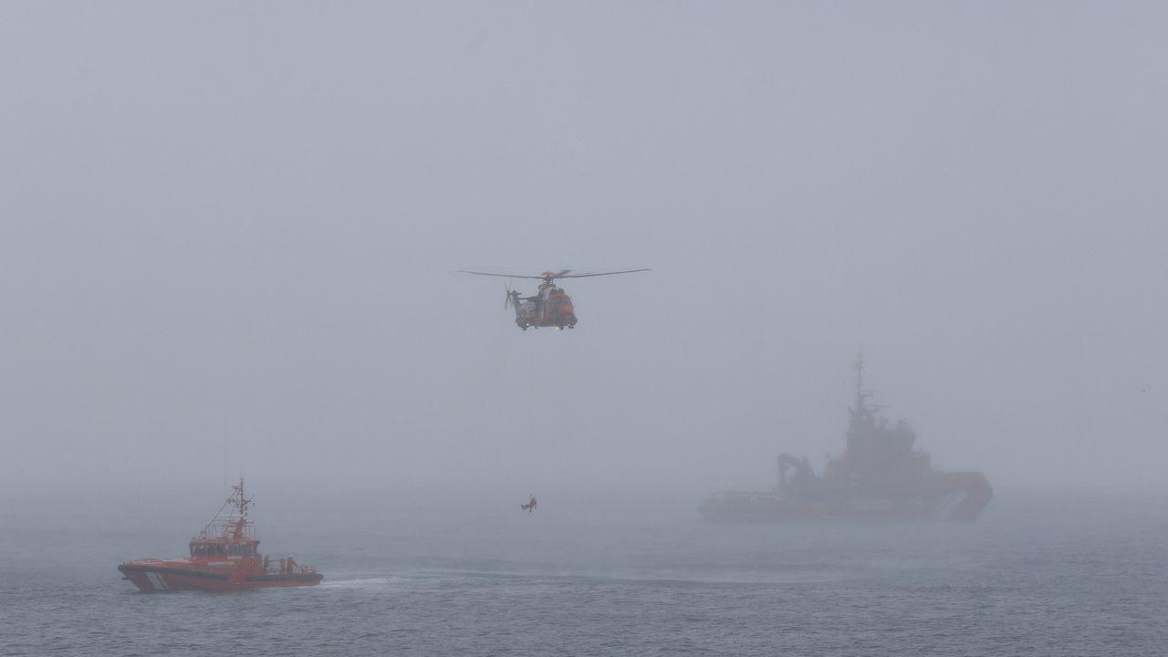 Imagen de archivo de un simulacro de Salvamento Marítimo