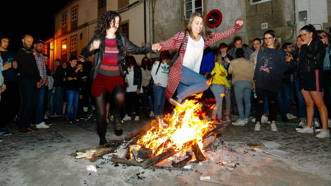 El San Juan de A Coruña, en imágenes.San Juan 2019. San Xoán. Santa Cristina