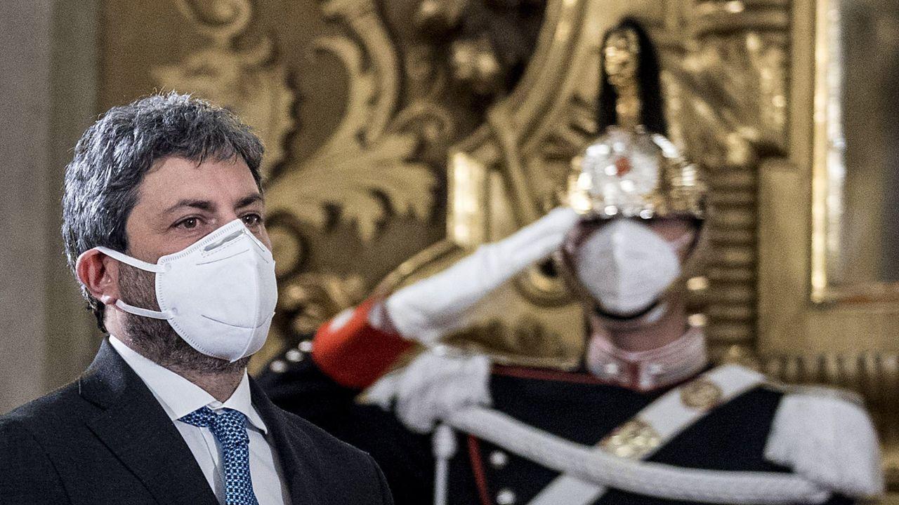 Roberto Fico, presidente de la Cámara de Diputados de Italia,