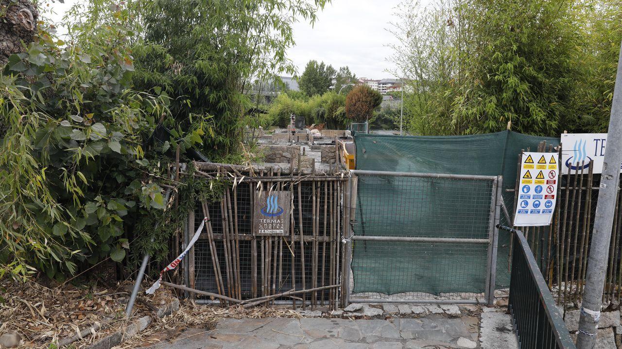 Imagen del lugar donde se cayó el camión en Villayón