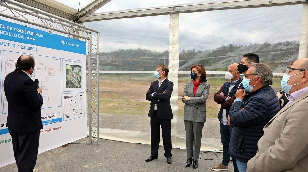 Presentación de la nueva planta de transferencia de basura de A Lama