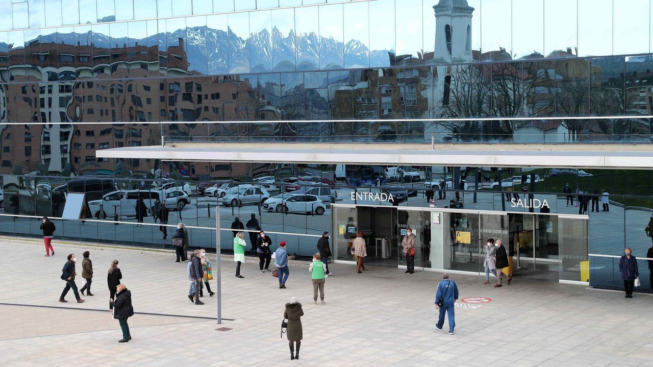 Vista exterior del Hospital Universitario Central de Asturias (HUCA)