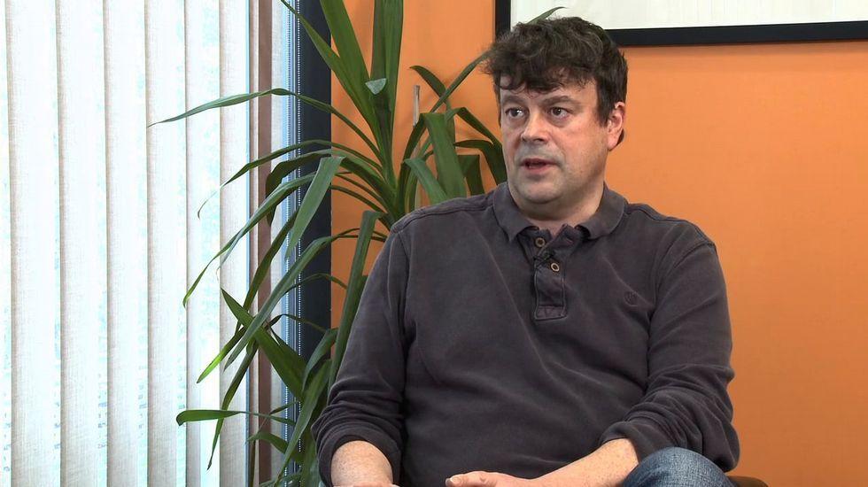 Ian Tomilson, uno de los investigadores premiados.