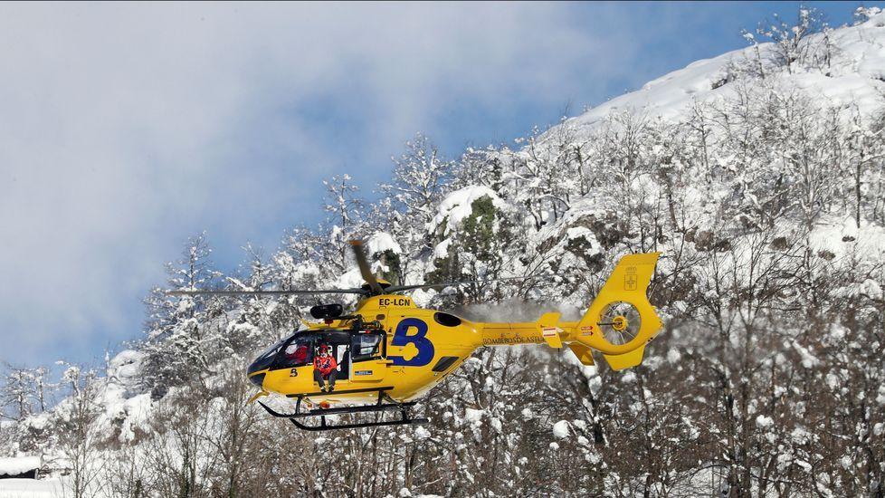 Helicóptero del SEPA