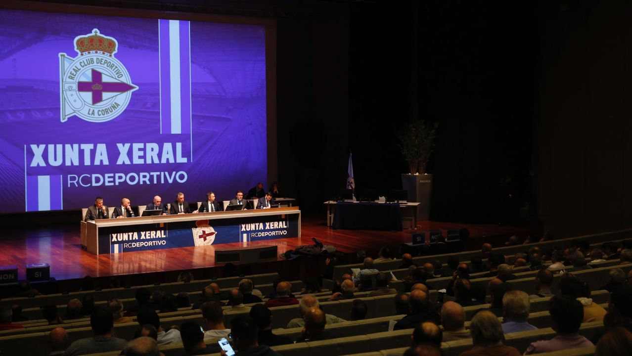 En directo: Firma del acuerdo entre Deportivo y Abanca.Una imagen del Museo de La Voz de Galicia en Sabón