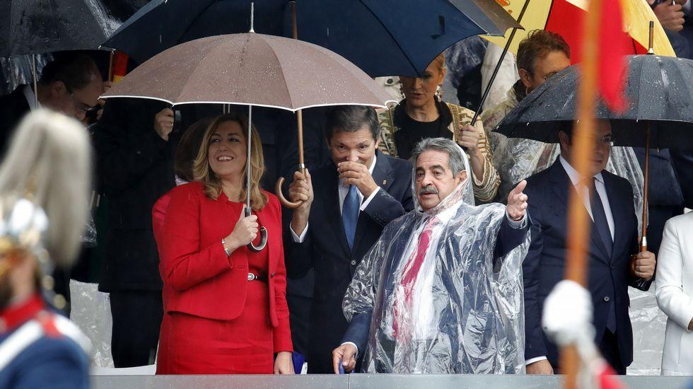 Javier Fernández centra las miradas en la Fiesta Nacional