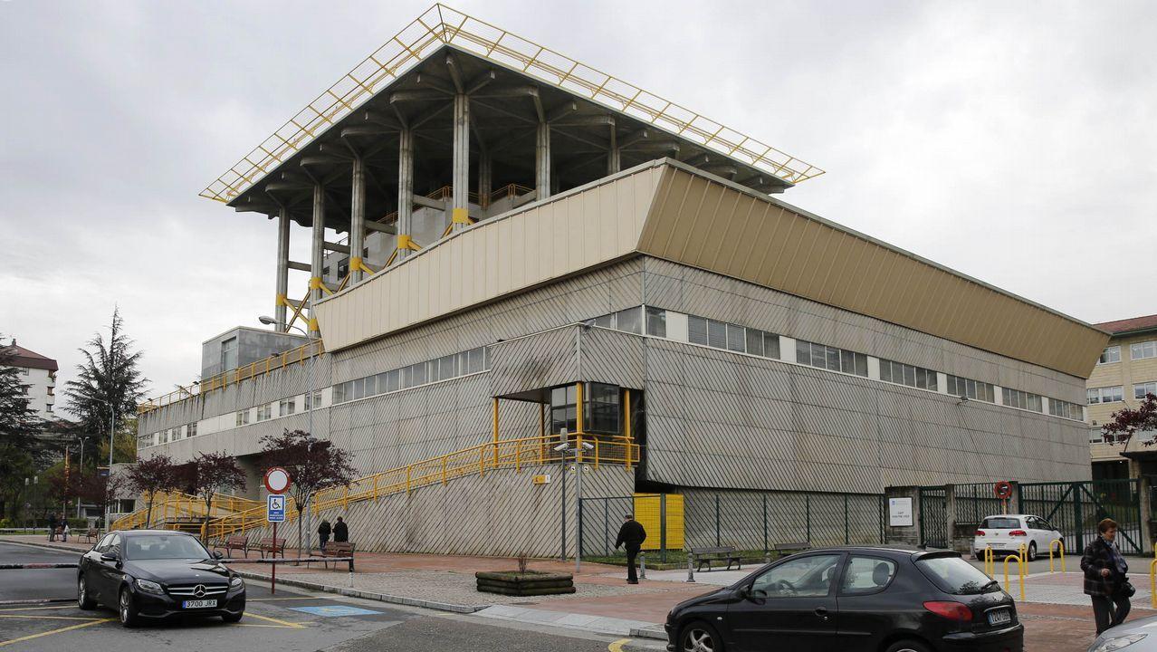 comisaría de Policía Nacional de Gijón.Comisaría de la Policía Nacional en Gijón