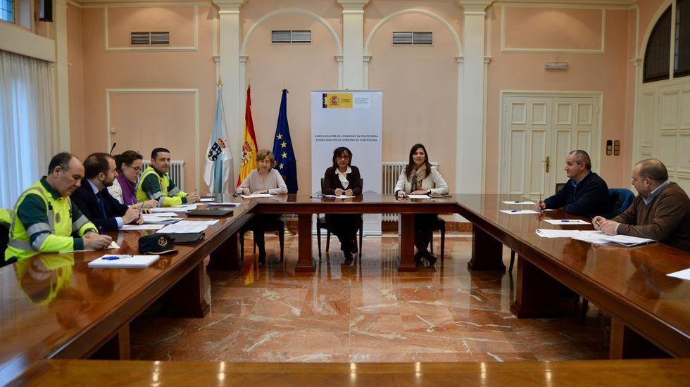 Pontevedra, normalidad laboral en la industria en el primer lunes en estado de alarma