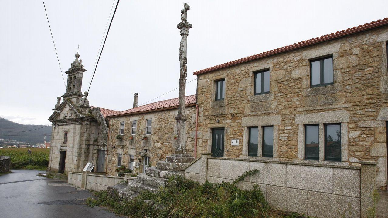 Pazo de Trasouteiro, en Vimianzo