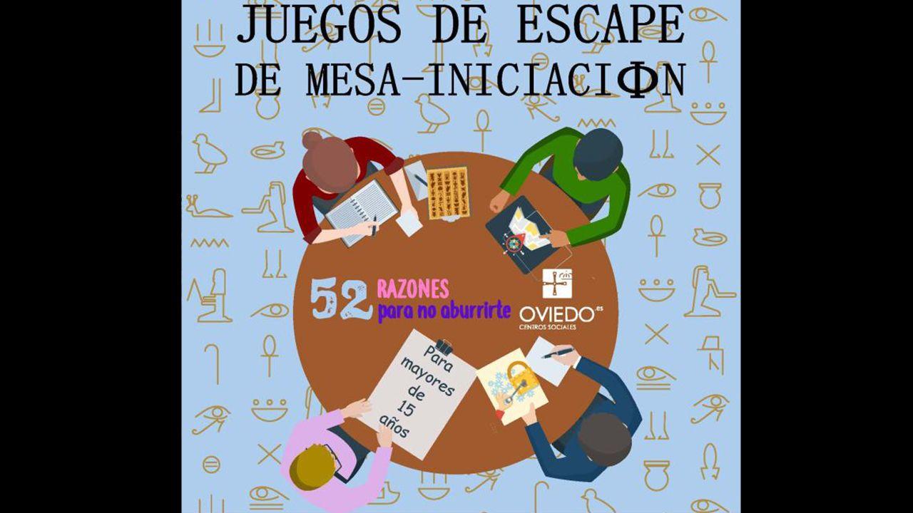 Juegos de escape de mesa en Oviedo