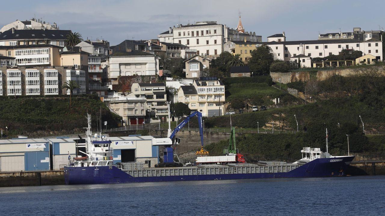 Vista de Ribadeo