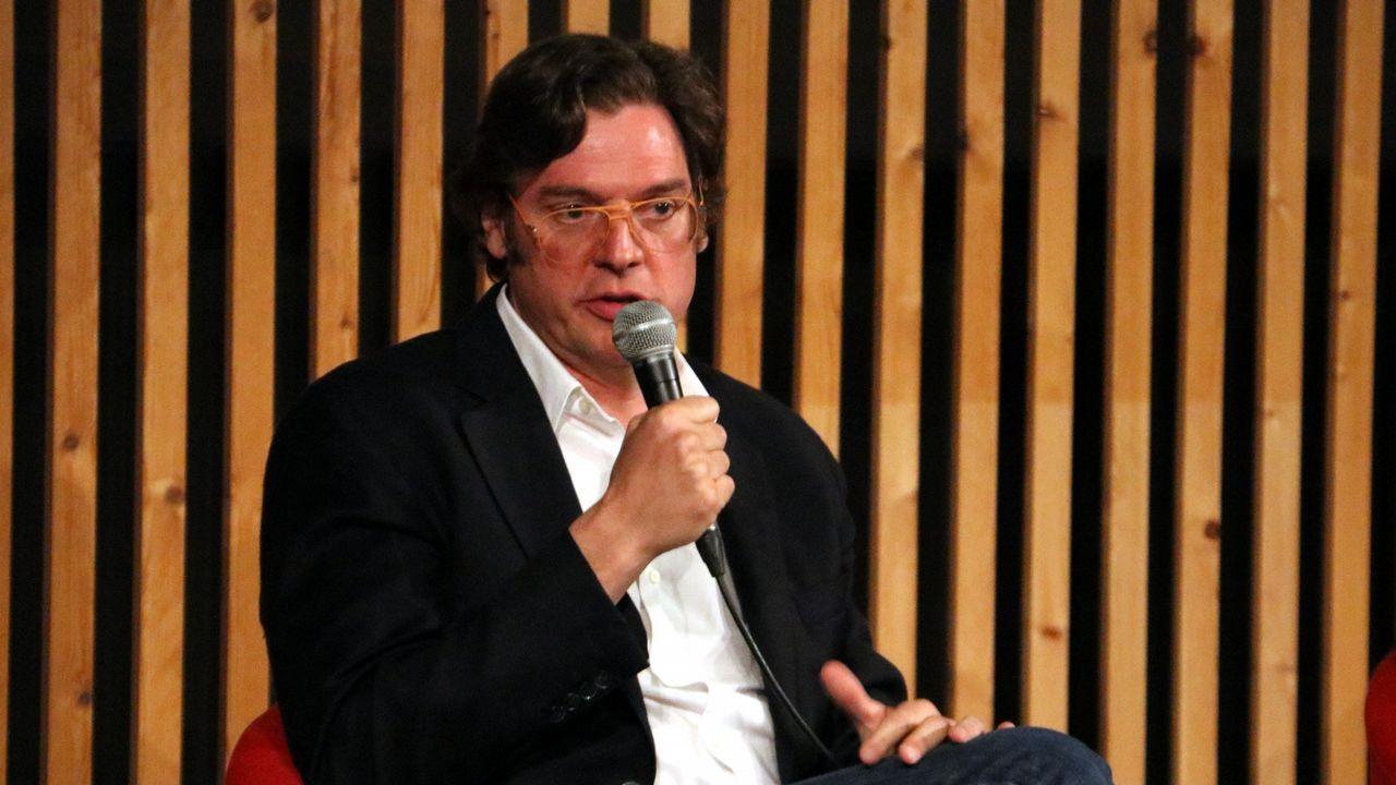 | EFE.El director del documental «Dos Cataluñas», Álvaro Longoria