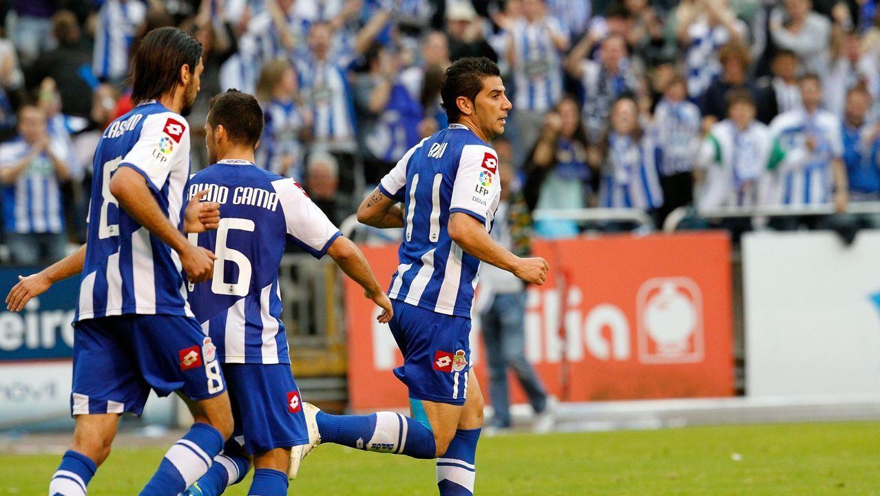 Lassad el día del ascenso ante el Huesca