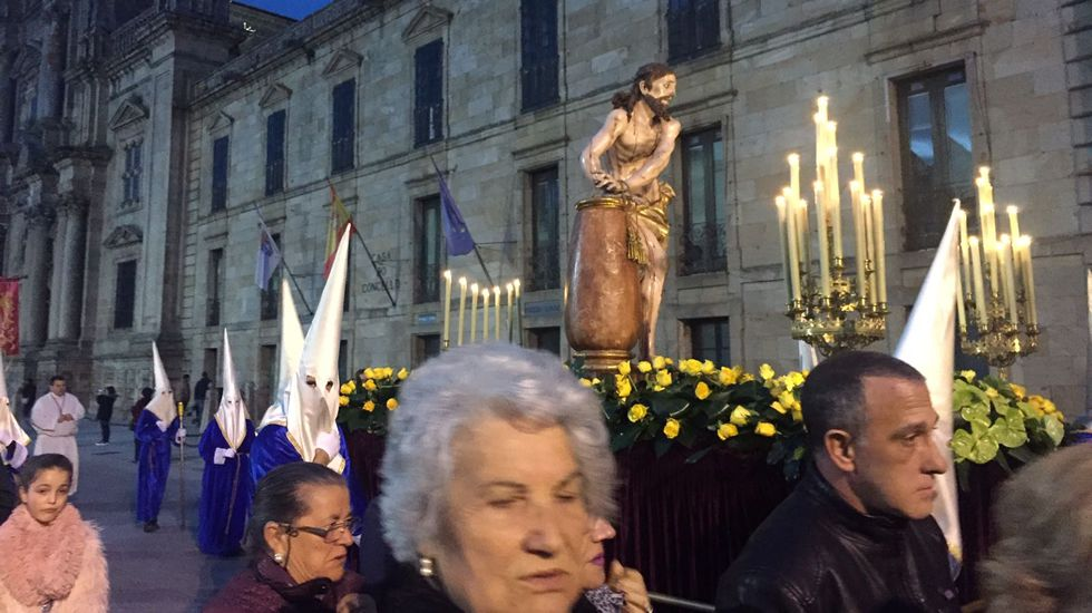 Procesión de Viernes Santo en Celanova