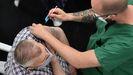 Vacunación contra el covid-19 este jueves en Expocoruña