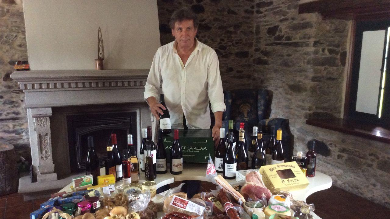 José Luis Gómez, de La Casa de la Aldea, tiene clientes en Europa y alrededor de 1.500 en España